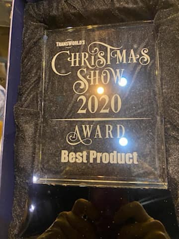 transworld christmas show 2020 2021 product of the year award goes to visidream