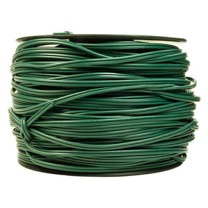 SPT-1 wire Bulk Reel 500 feet of green wire for professional christmas light hangers