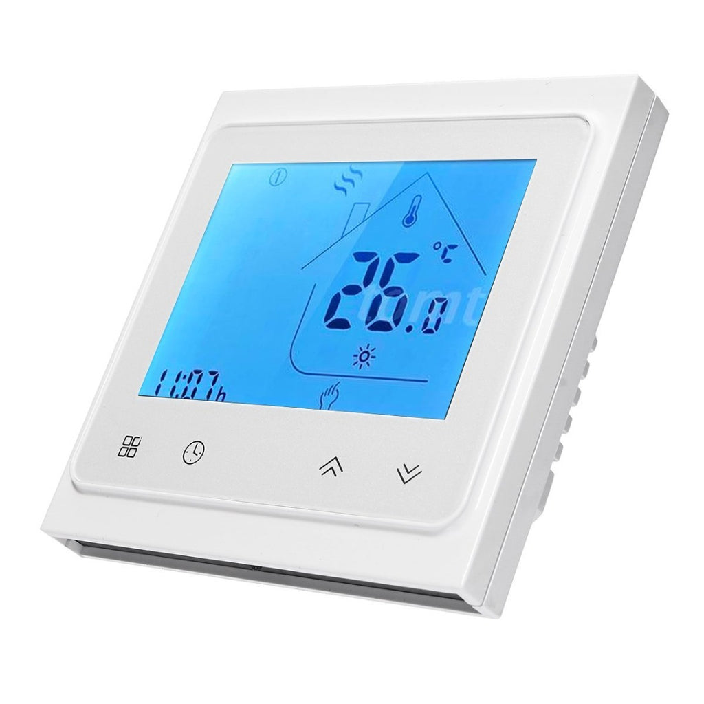Programmable LCD Heat Thermostat Controller