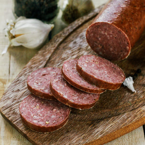 Organic Grass Fed Beef Summer Sausage 4