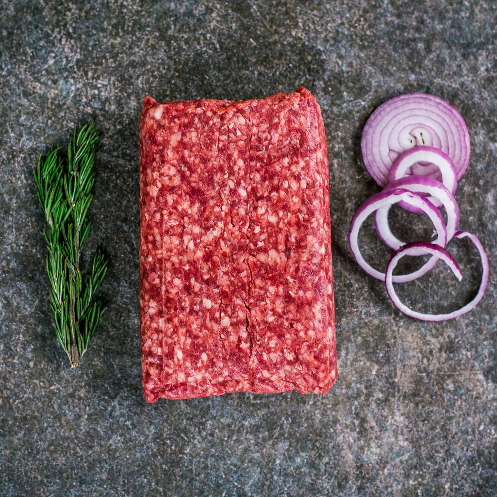 Organic Grass Fed Ground Beef 2
