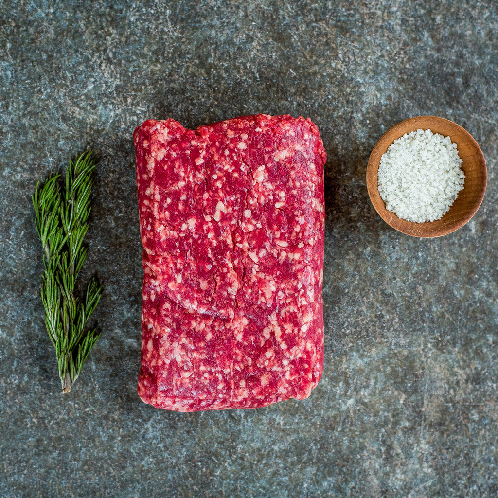 Organic Grass Fed Beef Ground Chuck 1