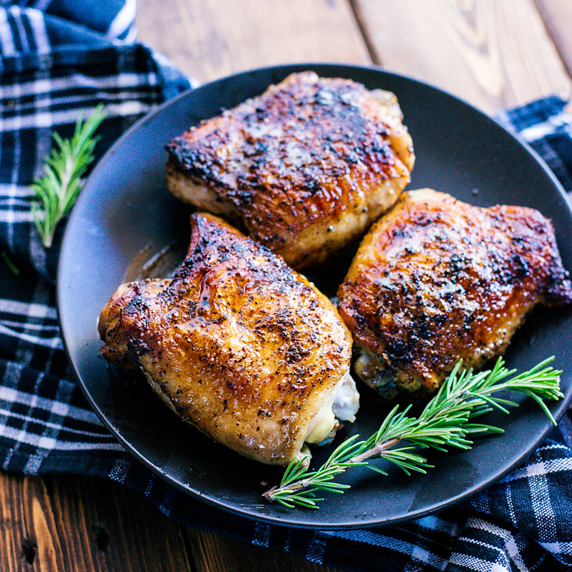 Pastured Chicken Thighs Bone-In