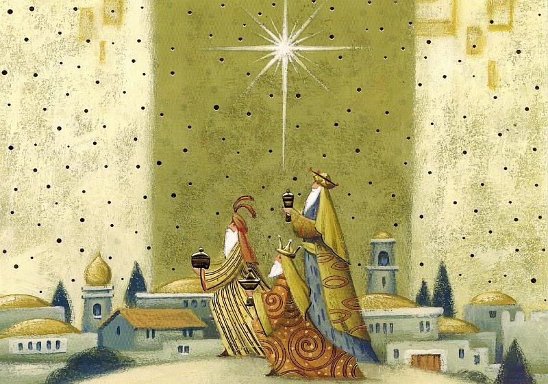 Christmas Gift Card: Wise Men