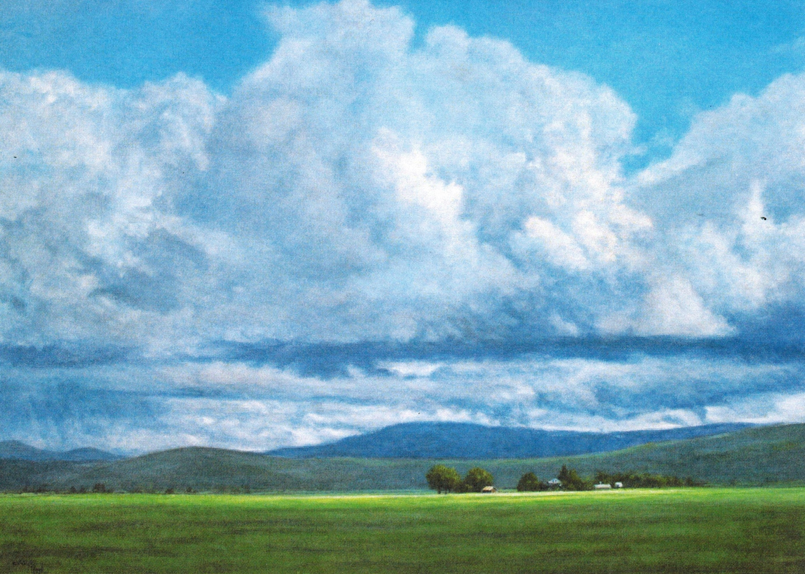 Gift Card by Kaye York: Oregon Sky