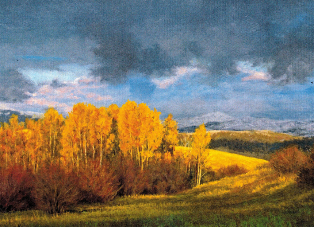 Gift Card by Kaye York: Storm Over Bacon Creek