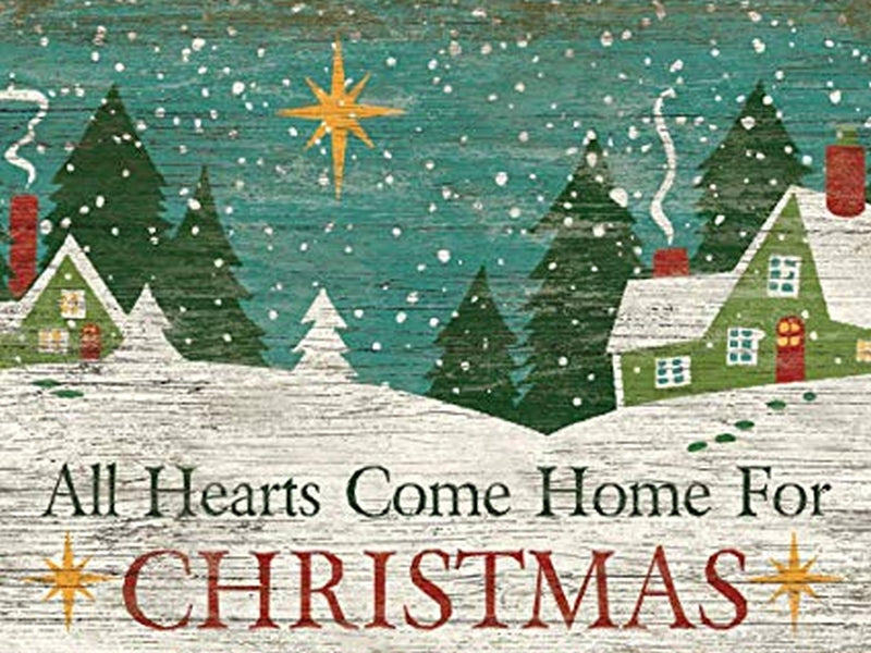 Christmas Gift Card: All Hearts Come Home for Christmas