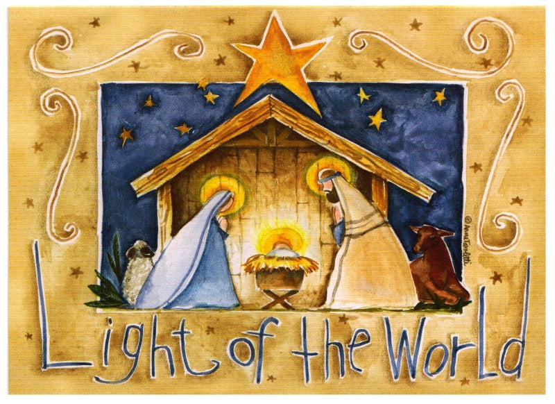 Christmas Gift Card: Nativity Scene