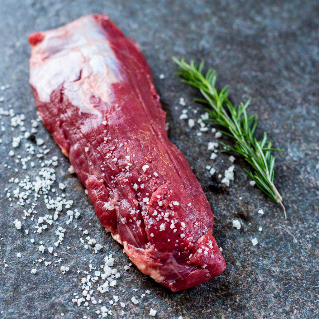 Alderspring Ranch Organic Grass Fed Beef Shoulder Tender Steak 1