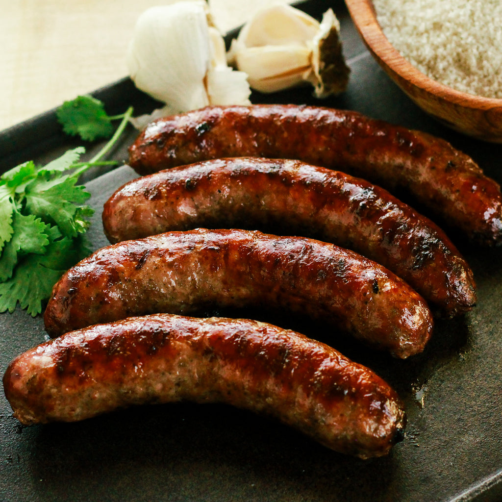 Alderspring Ranch Organic Grass Fed Beef Italian Sausages 1