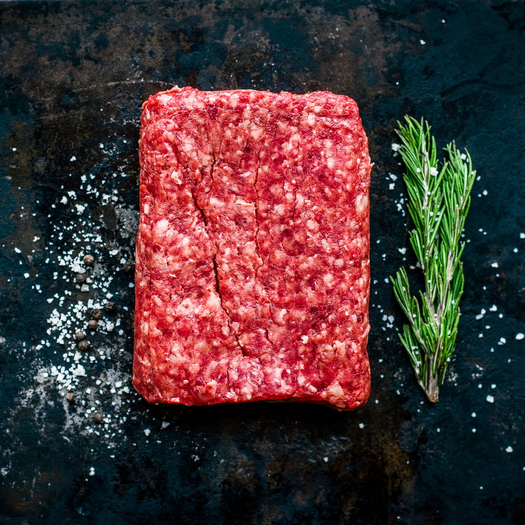 Alderspring Ranch Regenerative Organic Grass Fed Ground Beef Lover's Special Pack 1