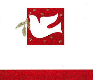 Christmas Gift Card: Peace Dove