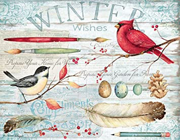 Christmas Gift Card: Winter Garden