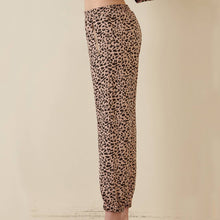 Load image into Gallery viewer, Blush Leopard Sweat Pants