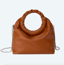 Load image into Gallery viewer, Brown Leather Satchel