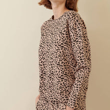 Load image into Gallery viewer, Blush Leopard Sweat Shirt