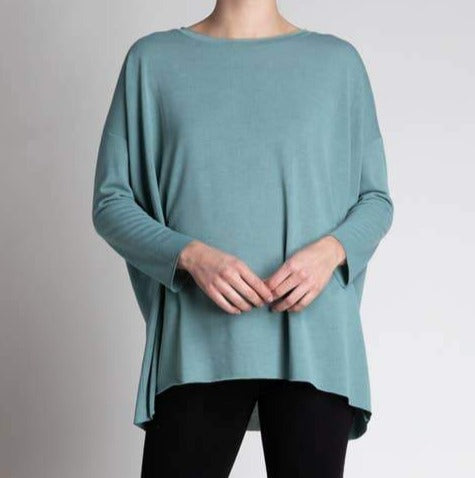 Celadon Long Sleeve Top