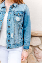 Load image into Gallery viewer, Boyfriend Denim Jacket