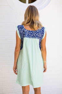 Embroidered Hazel Dress
