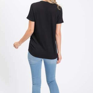 Ribbed Cap Sleeve Top