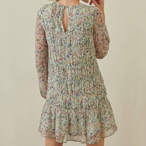 Floral Babydoll Dress (Large)