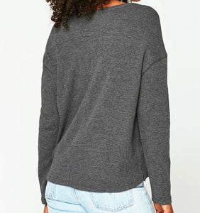 Thermal Boatneck Top (1 L & 1 XL)