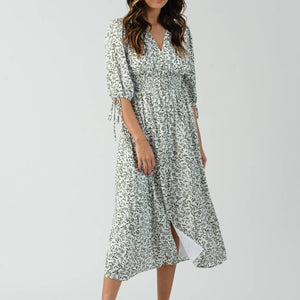 Ivy Smocked Midi Dress