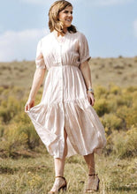 Load image into Gallery viewer, Soft Pink Midi Dress