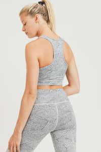 Zen Textured Sports Bra