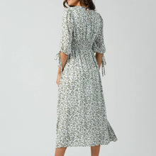 Load image into Gallery viewer, Ivy Smocked Midi Dress