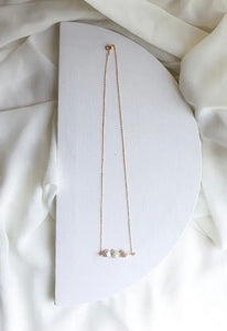 Freshwater Pearl Trio Necklace