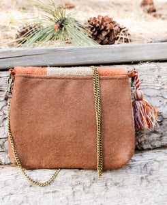 Western Orange Crossbody Bag