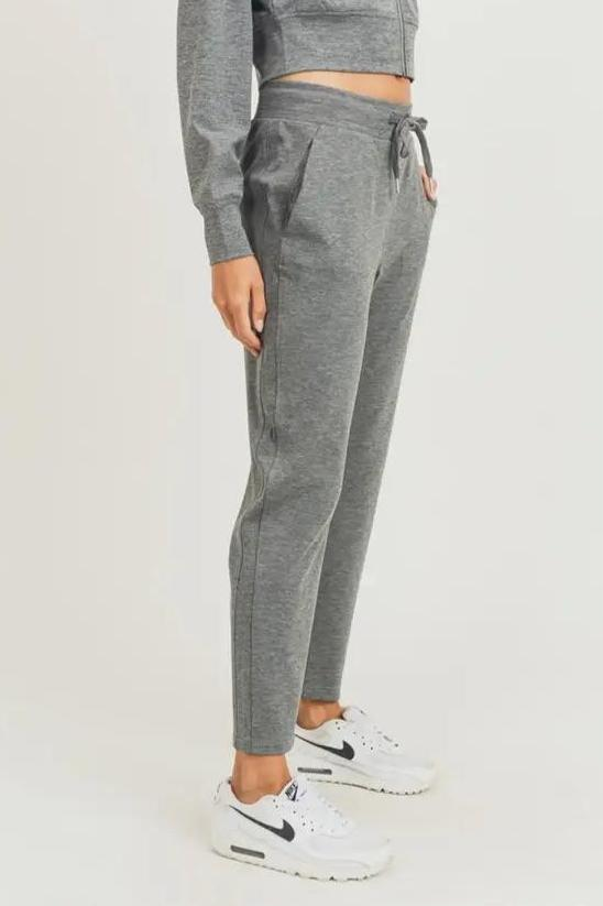 Gray Side Paneled Joggers