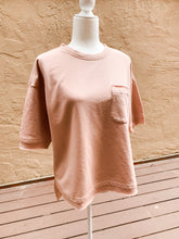 Load image into Gallery viewer, Short Sleeve Sweatshirt Dusty Pink