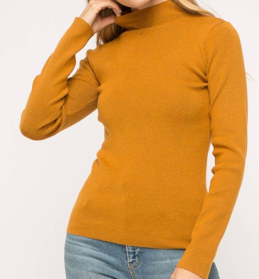 Caramel Turtle Neck