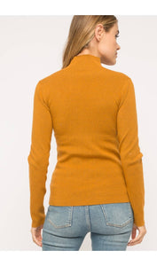 Caramel Turtleneck