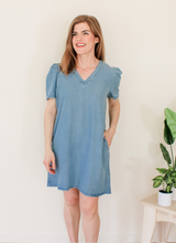 Load image into Gallery viewer, Short Denim Dress