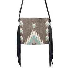 Load image into Gallery viewer, Smoky Quartz Fringe Bag