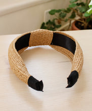 Load image into Gallery viewer, Natural Raffia Headband