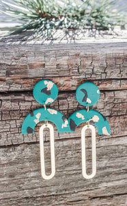Caroline Emerald Earrings