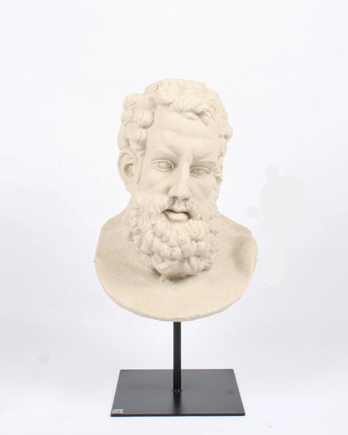 Head Sculpture - LE PLUME