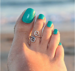 Toe Ring Fashion Simple Retro Crown Toe Ring for Women 2018 Fashion Europe Style Beach Foot Jewelry