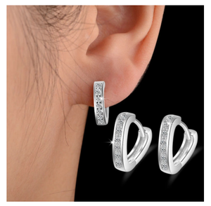 2020 NEW HOT SALE 100% Real 925 Sterling Silver Conch Earring For Women Making Jewelry Gift Wedding Party Engagement