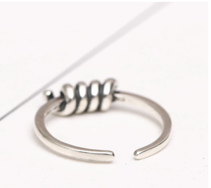 Silver 925 Jewelry Trend Ring For Woman Vintage Sterling Silver Toe Rings Tail Ring Thai Silver Body Jewelry Adjustable