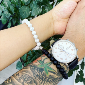 Attractive couples charm bracelets best friend stoned bracelet men bracelet Natural Volcanic rocks attractive jewelry bracelet