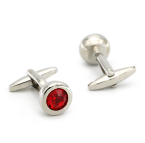 Free Shipping Crystal Cufflinks 28 Stone Designs Hotsale Copper Material Cuff Links Whoelsale&retail