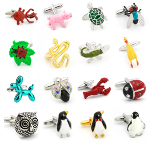 Free shipping Cuff Links horse design animal series bear elephant penguin kangaroo eagle men cufflinks whoelsale&retail