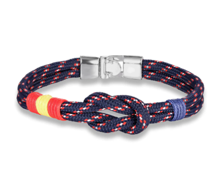 Navy Country Spain Flag Bracelets Men Colorful Survival Paracord Rope Bracelet Women femme infinity Jewelry Handmade Lucky Gift