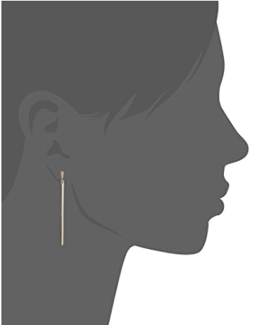 BCBG Generation Linear Bar Drop Earrings