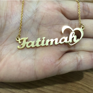 Personalized Iced Name Necklace Stainless Steel Charm Custom Name Jewelry Any Name 11 Font Style To Choose For Girl kids